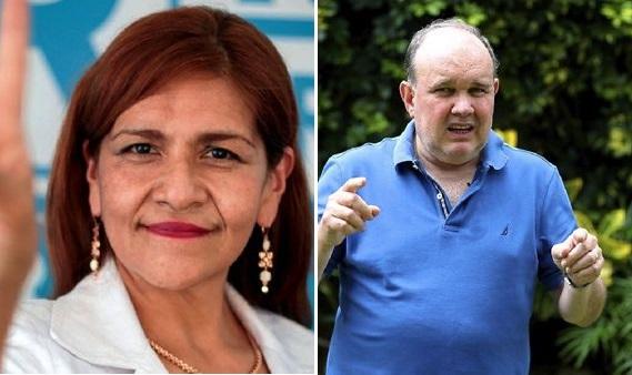 """Neldy Mendoza se """"allana"""" para retirarse de plancha presidencial de López Aliaga"""