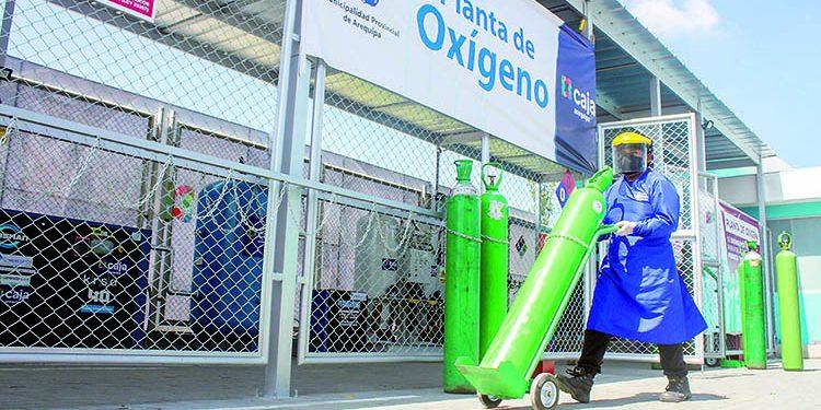 Ampliarán producción en planta de oxígeno en hospital Municipal Arequipa