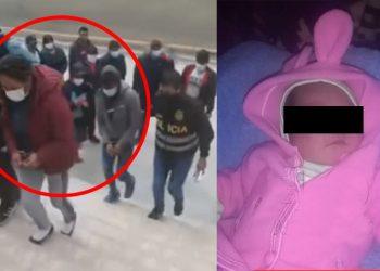 Capturan a mujer que engañó con bono S/ 200 a una madre para robarse a su bebé