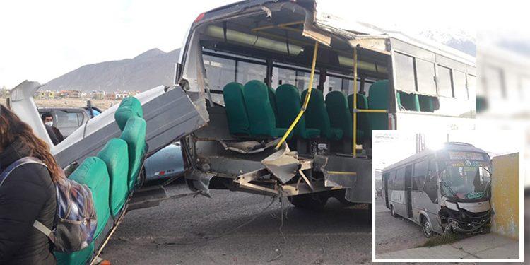 Choferes que protagonizaron accidente en puente Añashuayco serían suspendidos