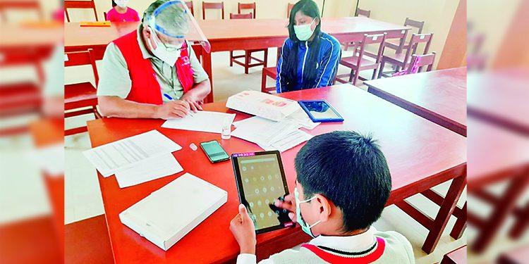 Contraloría verifica distribución de 11 mil tablets para que lleguen a los escolares