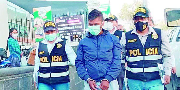Detienen por 7 días a sujeto que reconoció haber asesinado a su expareja e hijas en Arequipa
