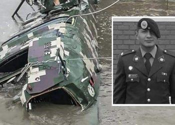 Encuentran sin vida a arequipeño del EP desaparecido tras caída de helicóptero