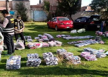 Incautan ropa extranjera valuadas en más de S/ 78 mil que sería contrabando