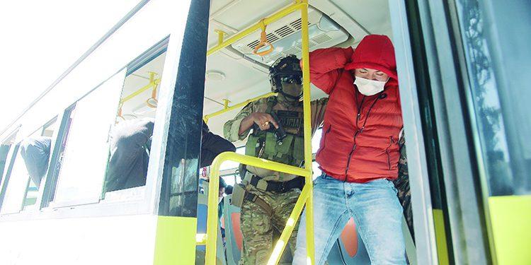 Instalan dispositivo para que cien buses alerten robos en transporte público en Arequipa