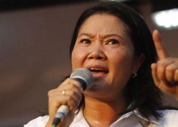 """Keiko pide a los presidentes de otros países que """"no se mentan en su candidatura"""""""