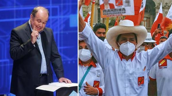 "López Aliaga afirma que ""Renovación Popular no apoyará a Pedro Castillo"""