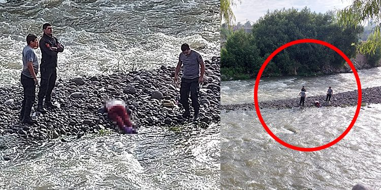 Mujer muere ahogada en río Chili tras caer de puente artesanal en Tiabaya