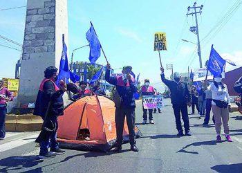 Padres y maestros le dicen no al retorno de las clases presenciales en Arequipa