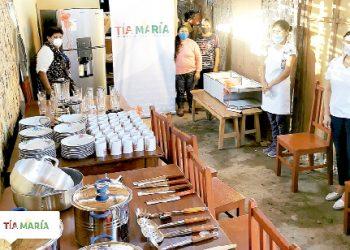 Proyecto Tía María entrega donativos a comedores populares del Valle de Tambo