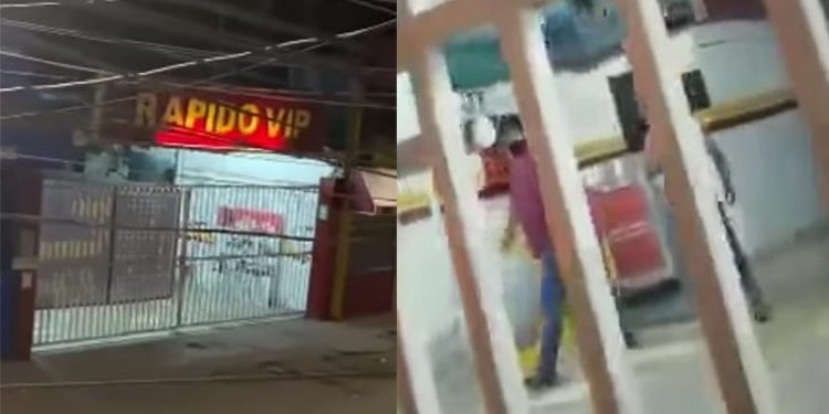 Trabajadores de empresa minivan de la ruta Camaná-Arequipa arman fiesta Covid
