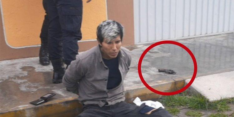 Varón ebrio apuntaba con arma de fuego a transeúntes en Paucarpata