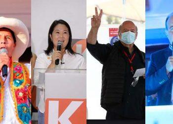Candidatos que lograron más del 50% de votos en distritos de Arequipa y otros ni uno
