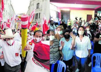 Prefectura de Arequipa no autorizará mítines de Pedro Castillo y Keiko Fujimori