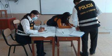 Arequipa: Policías habrían incluido a sus familiares en lista de vacunación
