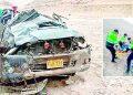 Auto cae a abismo de 100 metros en Quebrada del Toro y padre e hijo sobreviven