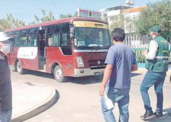 Transportistas informales juntarán firmas para derogar 3 ordenanzas que los afectan