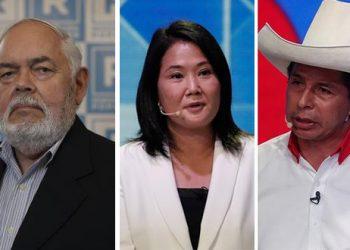 Vicepresidente de López Aliaga afirma que apoyaría a Keiko Fujimori que a Castillo