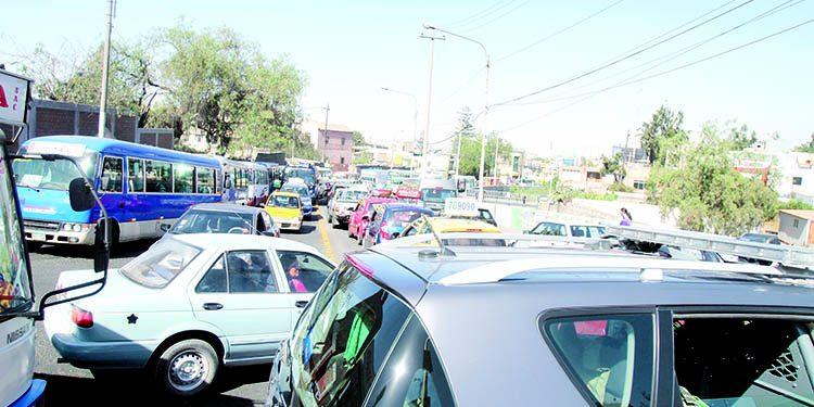 Arequipa: 70 puntos críticos de tránsito con problemas de congestión y señalización
