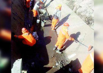 Aparente derrumbe causó ruptura en algunos puntos en el Canal de Ongoro