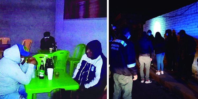 Arequipa: Intervienen a un total de 58 covidiotas en bares y fiesta chicha Covid