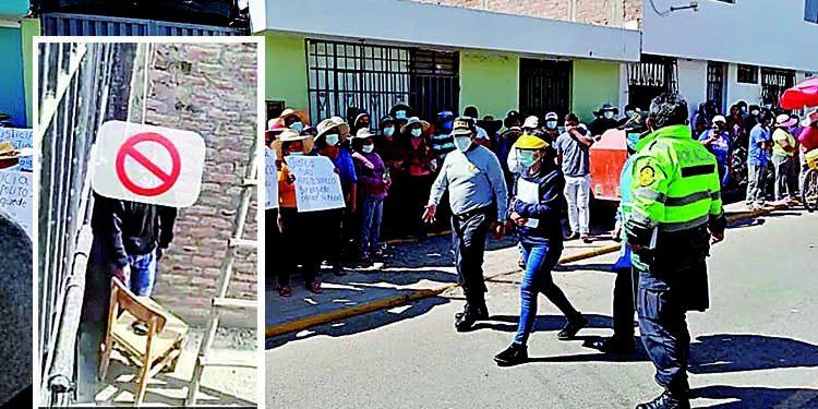 Arequipa: Investigan caso de exdirigente que murió colgado con soga en La Joya