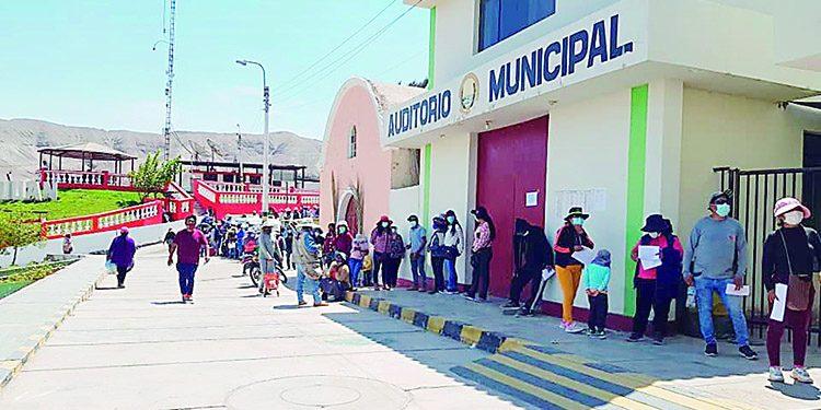 Arequipa Más de siete mil afectados por promesa de lotes granja en San Juan de Siguas