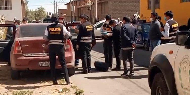 Atrapan a presunta banda que robaba a pasajeros de transporte público en Arequipa