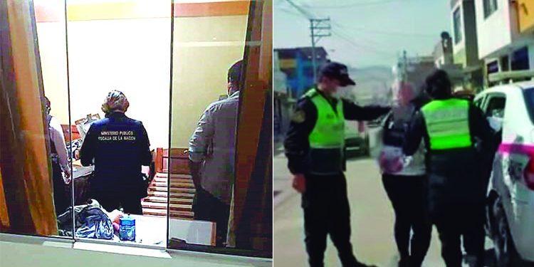 Capturan a 5 miembros de banda dedicada al tráfico ilícito de drogas en Camaná