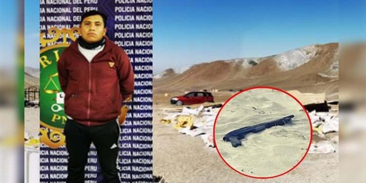 Capturan a minero acusado de torturar y matar a vigilante en Fundo Quebrada Gloria