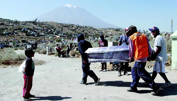 Cementerios distritales en Arequipa con poca capacidad para más entierros en pandemia 2