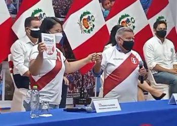 César Acuña respaldará a Keiko Fujimori y partido APP integraría equipo técnico
