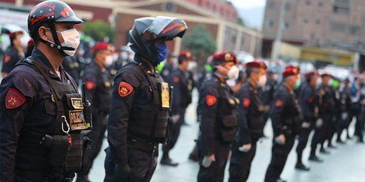 Así será el despliegue policial en el debate presidencial del JNE en Arequipa