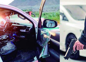 Delincuentes intentan asaltar camioneta con pasajeros de la ruta Camaná-Secocha