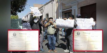 En San Juan de Siguas habrían cobrado irregularmente 5500 soles por acceso a lote