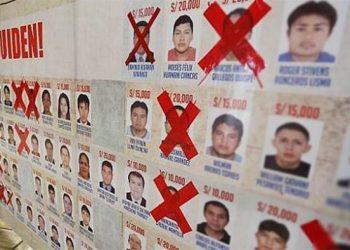 Hay 750 mil soles de recompensa por dar con 61 prófugos en Arequipa