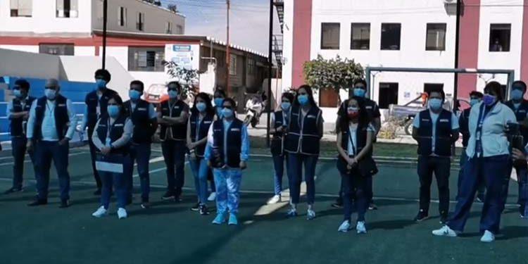 Llega primera delegación del Minsa para fortalecer atención por Covid en Arequipa