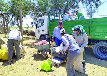 Majes inicia lucha contra la contaminación agrícola y ambiental