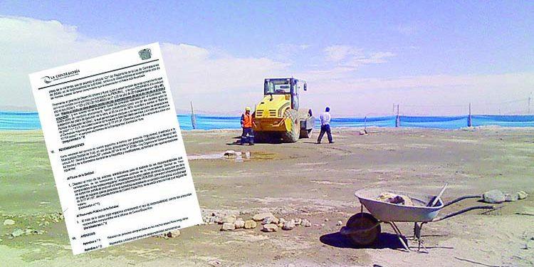 Arequipa: Obra en Yura demoró un año y causó perjuicio de más de S/ 77 mil