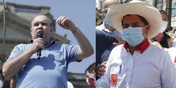 """Pedro Castillo le responde a López Aliaga sobre """"amenazas de muerte"""" en su contra"""