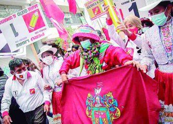 Elecciones 2021: Pedro Castillo llegará esta semana a las regiones del sur del Perú