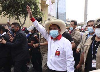 Pedro Castillo presentó Plan Bicentenario y plantea un país con justicia social