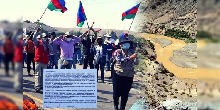 Sánchez Cerro y Valle de Tambo en paro indefinido contra proyecto minero Katy