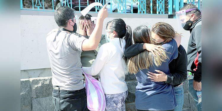 Se enteran de la muerte de su familiar cuando exigían a EsSalud una cama UCI