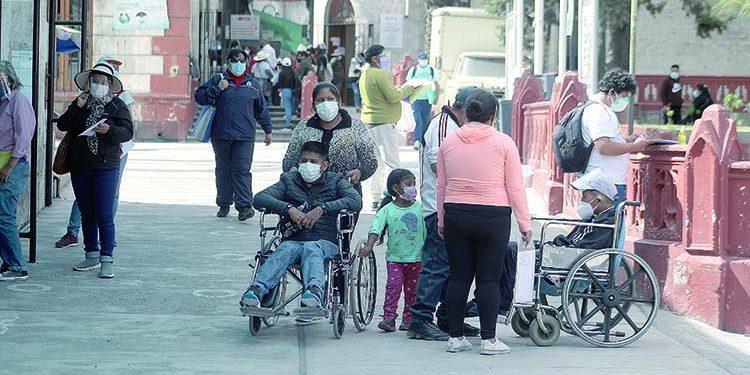 Suspenden consultas externas en hospital Goyeneche debido a crisis por Covid