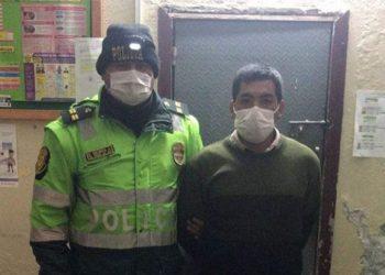 Capturan a varón por mostrar miembro viril y tocar a menor en bus de Espinar-Arequipa