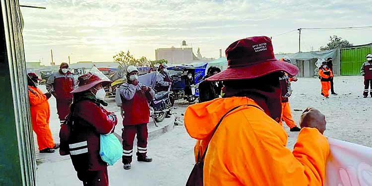 Arequipa: Municipio de Majes continúa incumpliendo pago de beneficios a obreros