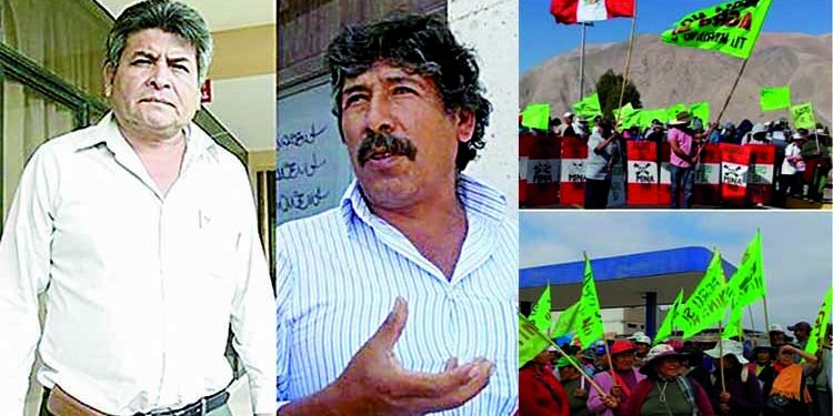Arequipa: Sala penal suspende cárcel efectiva a dirigentes del Valle de Tambo