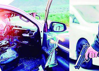 Camaná Delincuentes intentan asaltar camioneta en carretera Ocoña-Urasqui