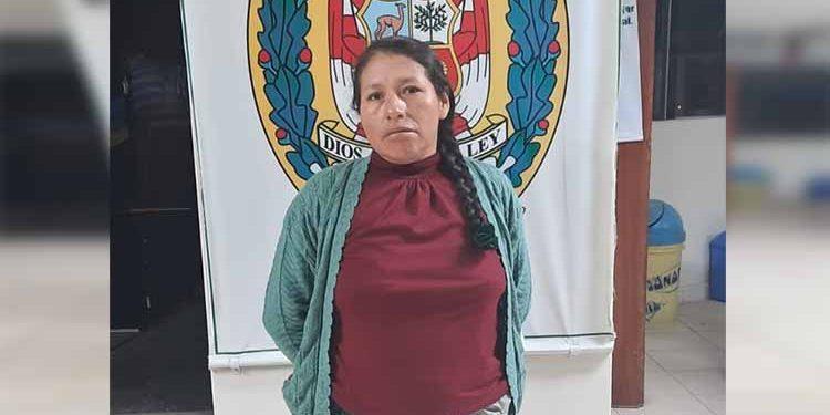 Capturan a mujer con requisitoria por el presunto delito de parricidio en El Pedregal